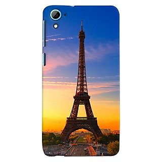 ColourCrust HTC Desire 826/Dual Sim Mobile Phone Back Cover With D298 - Durable Matte Finish Hard Plastic Slim Case