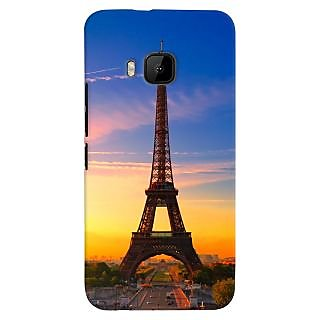 ColourCrust HTC One M9 Mobile Phone Back Cover With D298 - Durable Matte Finish Hard Plastic Slim Case