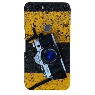 ColourCrust Huawei Google Nexus 6P Mobile Phone Back Cover With D293 - Durable Matte Finish Hard Plastic Slim Case