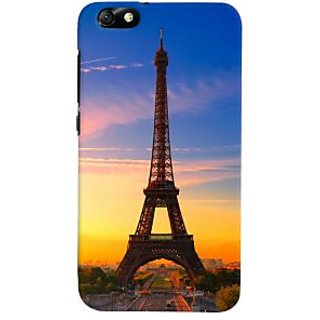 ColourCrust Huawei Honor 4X / Dual Sim / Glory Play Mobile Phone Back Cover With D298 - Durable Matte Finish Hard Plastic Slim Case
