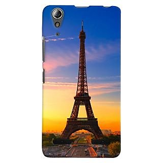ColourCrust Lenovo A6000 Mobile Phone Back Cover With D298 - Durable Matte Finish Hard Plastic Slim Case