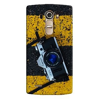 ColourCrust LG G4 H818N Mobile Phone Back Cover With D293 - Durable Matte Finish Hard Plastic Slim Case