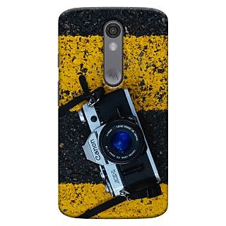 ColourCrust Motorola Moto X Force Mobile Phone Back Cover With D293 - Durable Matte Finish Hard Plastic Slim Case