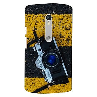 ColourCrust Motorola Moto X Style Mobile Phone Back Cover With D293 - Durable Matte Finish Hard Plastic Slim Case