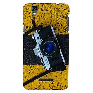 ColourCrust Micromax Yureka Plus Mobile Phone Back Cover With D293 - Durable Matte Finish Hard Plastic Slim Case