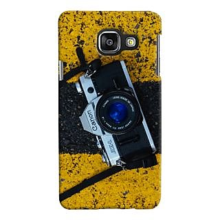 ColourCrust Samsung Galaxy A3 A310 (2016 Edition) Mobile Phone Back Cover With D293 - Durable Matte Finish Hard Plastic Slim Case