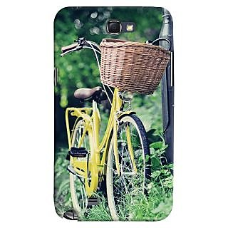 ColourCrust Samsung Galaxy Note 2 Mobile Phone Back Cover With D297 - Durable Matte Finish Hard Plastic Slim Case
