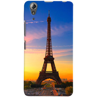 ColourCrust Lenovo A6000 Plus Mobile Phone Back Cover With D298 - Durable Matte Finish Hard Plastic Slim Case