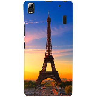 ColourCrust Lenovo A7000 Mobile Phone Back Cover With D298 - Durable Matte Finish Hard Plastic Slim Case