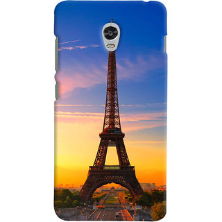 ColourCrust Lenovo Vibe P1 Mobile Phone Back Cover With D298 - Durable Matte Finish Hard Plastic Slim Case