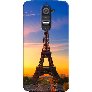 ColourCrust LG G2 / Optimus G2 Mobile Phone Back Cover With D298 - Durable Matte Finish Hard Plastic Slim Case