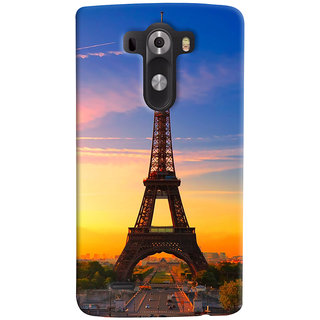 ColourCrust LG G3/ Optimus G3 Mobile Phone Back Cover With D298 - Durable Matte Finish Hard Plastic Slim Case