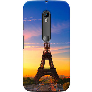 ColourCrust Motorola Moto G3 Mobile Phone Back Cover With D298 - Durable Matte Finish Hard Plastic Slim Case