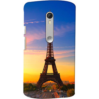 ColourCrust Motorola Moto X Style Mobile Phone Back Cover With D298 - Durable Matte Finish Hard Plastic Slim Case