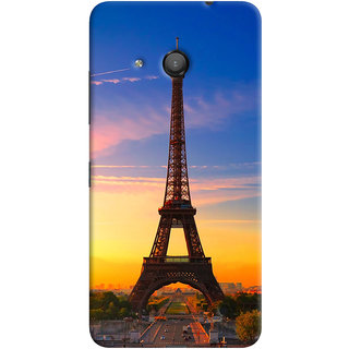 ColourCrust Microsoft Lumia 550 Mobile Phone Back Cover With D298 - Durable Matte Finish Hard Plastic Slim Case