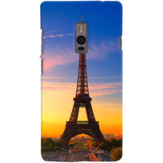 ColourCrust OnePlus 2 Mobile Phone Back Cover With D298 - Durable Matte Finish Hard Plastic Slim Case