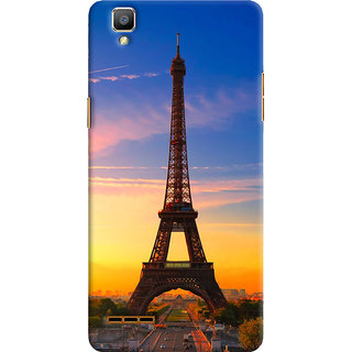 ColourCrust Oppo F1 Mobile Phone Back Cover With D298 - Durable Matte Finish Hard Plastic Slim Case