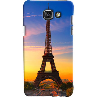 ColourCrust Samsung Galaxy A7 A710 (2016 Edition) Mobile Phone Back Cover With D298 - Durable Matte Finish Hard Plastic Slim Case