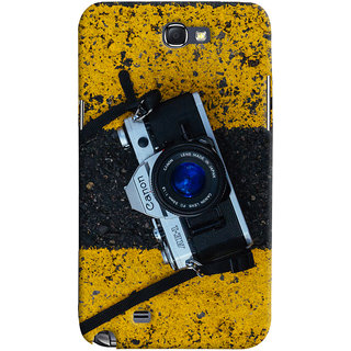 ColourCrust Samsung Galaxy Note 2 Mobile Phone Back Cover With D293 - Durable Matte Finish Hard Plastic Slim Case