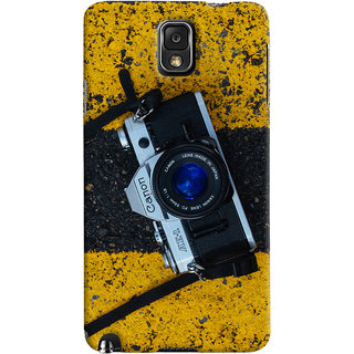 ColourCrust Samsung Galaxy Note 3 Mobile Phone Back Cover With D293 - Durable Matte Finish Hard Plastic Slim Case