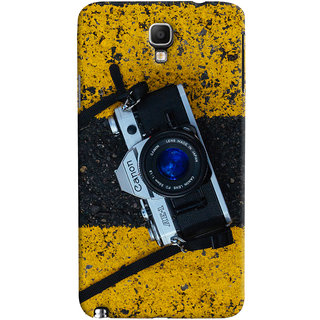 ColourCrust Galaxy Note 3 Neo Mobile Phone Back Cover With D293 - Durable Matte Finish Hard Plastic Slim Case