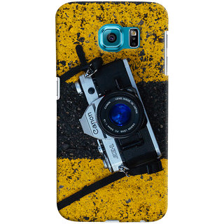 ColourCrust Samsung Galaxy S6 Mobile Phone Back Cover With D293 - Durable Matte Finish Hard Plastic Slim Case