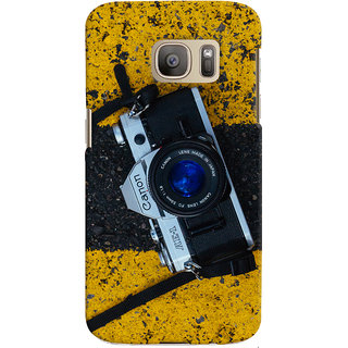 ColourCrust Samsung Galaxy S7 Mobile Phone Back Cover With D293 - Durable Matte Finish Hard Plastic Slim Case