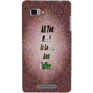 Lenovo K910 Mobile Back Cover