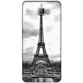 Casotec Paris City Design 3D Printed Hard Back Case Cover for Coolpad F1