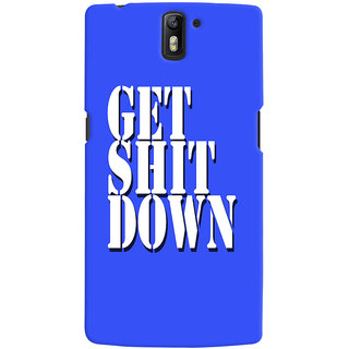 One Plus One Mobile Back Cover