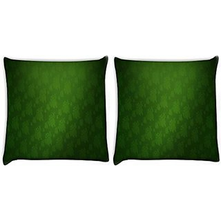 Snoogg Pack Of 2 Digitally Printed Cushion Cover Pillows 24 X 24 Inch
