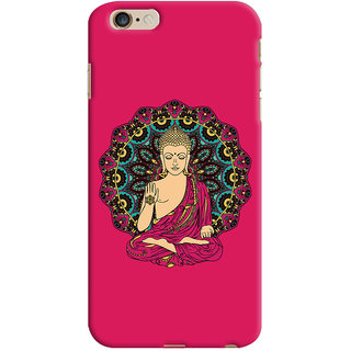 ColourCrust Lord Buddha Devotional Printed Designer Back Cover For Apple iPhone 6S Plus Mobile Phone - Matte Finish Hard Plastic Slim Case