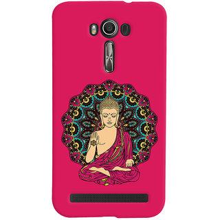 ColourCrust Lord Buddha Devotional Printed Designer Back Cover For Asus Zenfone 2 Laser ZE601KL Mobile Phone - Matte Finish Hard Plastic Slim Case