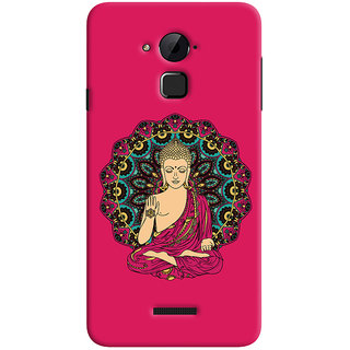 ColourCrust Lord Buddha Devotional Printed Designer Back Cover For Coolpad Note 3 Lite Mobile Phone - Matte Finish Hard Plastic Slim Case