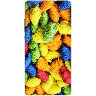 ColourCrust Colourpul Pattern Style Printed Designer Back Cover For Huawei Ascend P8 / Dual Sim Mobile Phone - Matte Finish Hard Plastic Slim Case