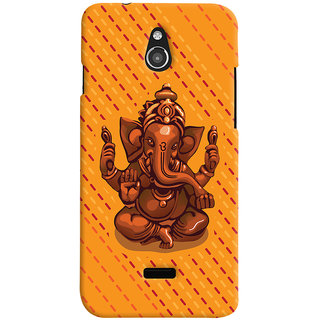 ColourCrust Lord Ganesha Ganpati Devotional Printed Designer Back Cover For Infocus M2 Mobile Phone - Matte Finish Hard Plastic Slim Case