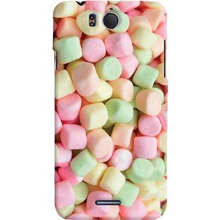 ColourCrust Sugar Candy Pattern Style Printed Designer Back Cover For Infocus M530 Mobile Phone - Matte Finish Hard Plastic Slim Case