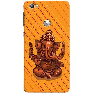 ColourCrust Lord Ganesha Ganpati Devotional Printed Designer Back Cover For LeEco LE1S Mobile Phone - Matte Finish Hard Plastic Slim Case