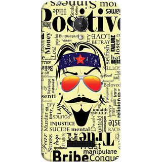 ColourCrust Sarcasm Quirky Printed Designer Back Cover For Micromax Canvas Spark Q380 Mobile Phone - Matte Finish Hard Plastic Slim Case