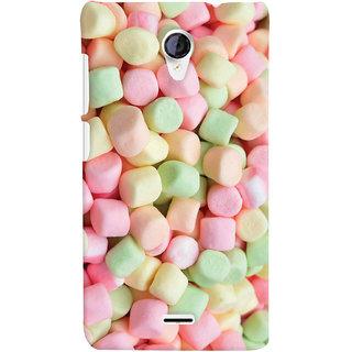 ColourCrust Sugar Candy Pattern Style Printed Designer Back Cover For Micromax Unite 2 A106 Mobile Phone - Matte Finish Hard Plastic Slim Case