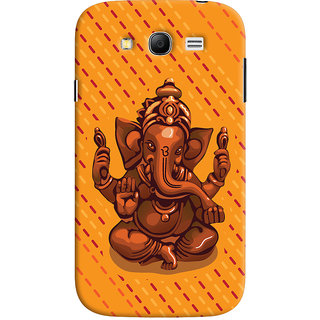 ColourCrust Lord Ganesha Ganpati Devotional Printed Designer Back Cover For Samsung Galaxy Grand Neo Plus Mobile Phone - Matte Finish Hard Plastic Slim Case