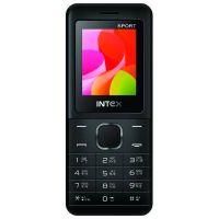 Intex Eco Sport Mobile Phone Dual Sim Black Color