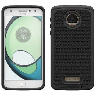 Colorcase Silicon Hard Back Cover Case for Motorola Moto Z Play