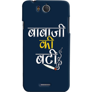 ColourCrust Baba Ji Ki Booty Quirky Printed Designer Back Cover For Infocus M530 Mobile Phone - Matte Finish Hard Plastic Slim Case