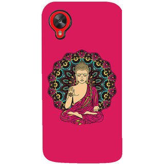 ColourCrust Lord Buddha Devotional Printed Designer Back Cover For LG Google Nexus 5 Mobile Phone - Matte Finish Hard Plastic Slim Case