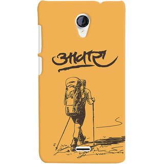 ColourCrust Aawara Quirky Printed Designer Back Cover For Micromax Unite 2 A106 Mobile Phone - Matte Finish Hard Plastic Slim Case