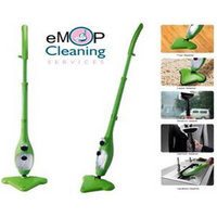 Shopper52 H2O Floor Cleaning X5 5-In-1 Cleaner Steamer Mops With Handsfree Cradle Cleaner - STMP