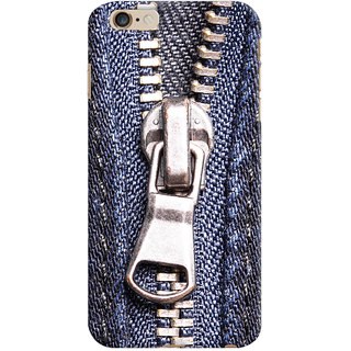 ColourCrust Apple iPhone 6 Plus Mobile Phone Back Cover With Denim Look - Durable Matte Finish Hard Plastic Slim Case