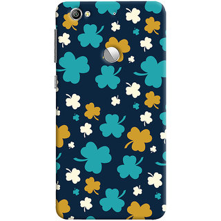ColourCrust LeEco LE1S Mobile Phone Back Cover With Floral Pattern - Durable Matte Finish Hard Plastic Slim Case