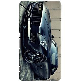 ColourCrust Sony Xperia C5 /Ultra Dual Sim Mobile Phone Back Cover With Kicherer Mercedes-Benz Car - Durable Matte Finish Hard Plastic Slim Case